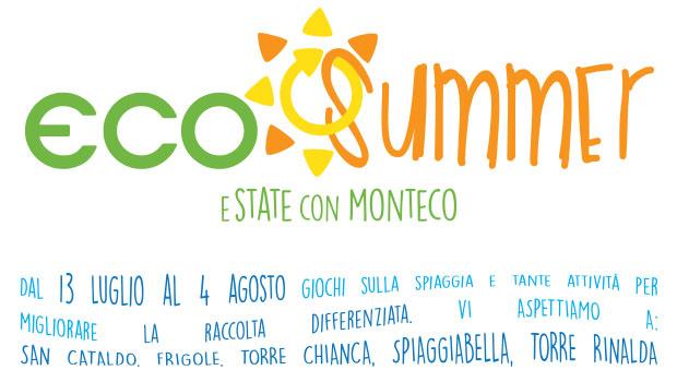 ECO SUMMER 2017: eSTATE con MONTECO