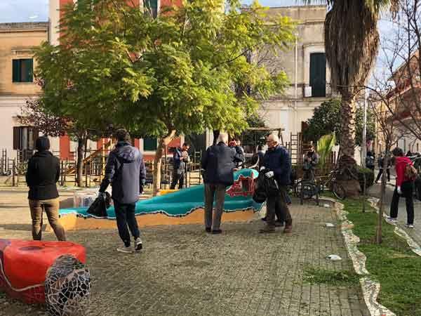 Lecce - Quartieri Puliti – Curiamo insieme la città: quartiere Idria e Ferrovia